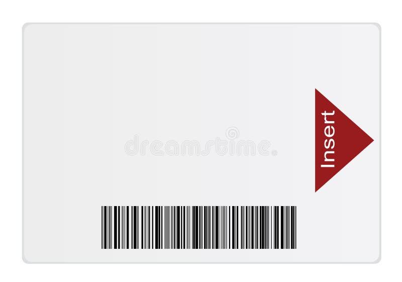 Smart Card illustrazione di stock