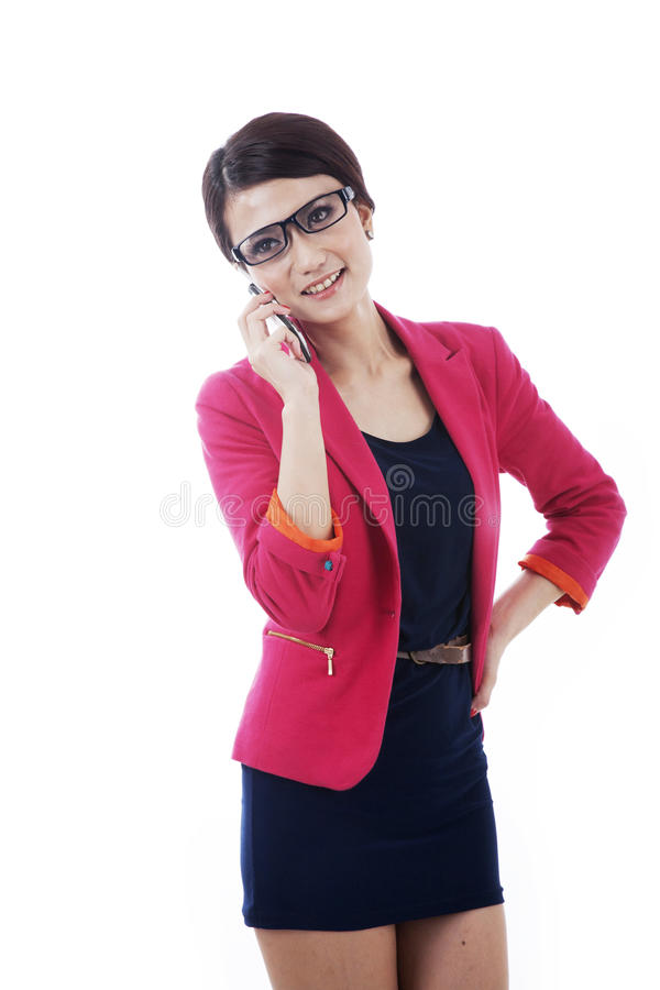 Download Smart Caucasian Businessoman With Cellphone Stock Image - Image: 22283313
