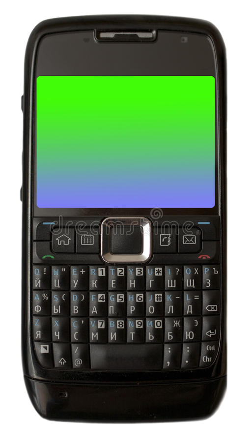 Download Smart cellphone stock image. Image of cellphone, message - 12862435