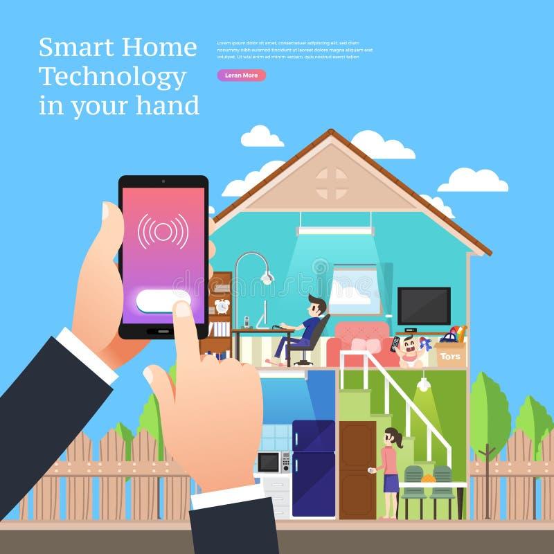 Smart City Technology stock illustration