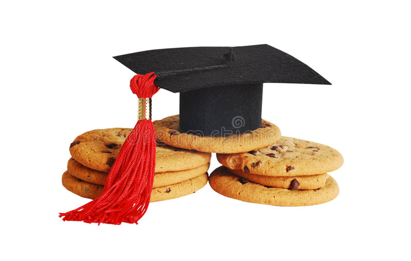 Smart Cookie royalty free stock photos