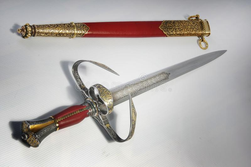 Smart dagger royalty free stock images
