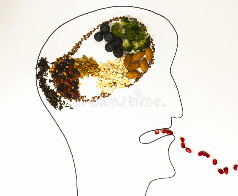 Smart Eating royalty free stock photography