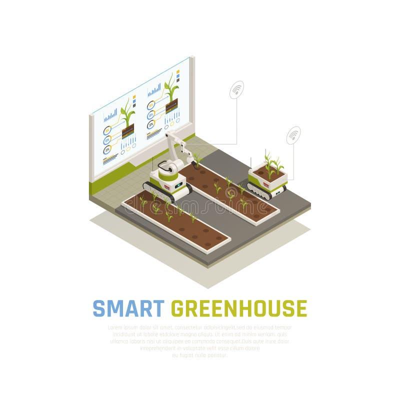 Smart Farming Concept vector illustration