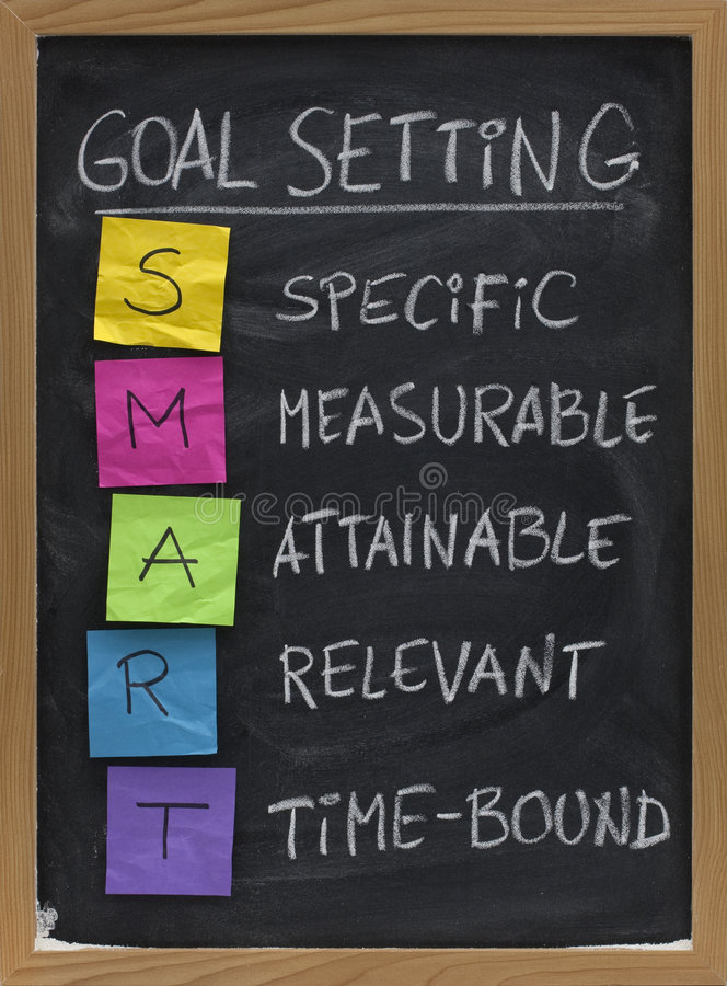 Free Smart Goal Setting Concept Stock Photography - 9321292
