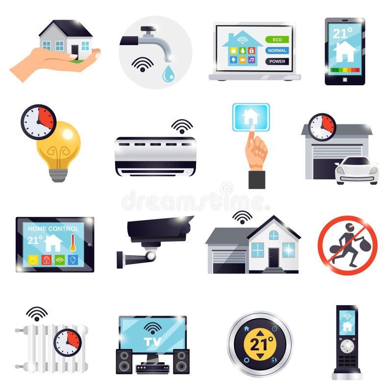 Smart Home Icon Set vector illustration