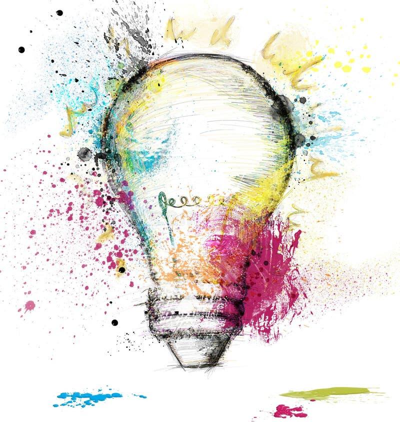 Smart idea vector illustration
