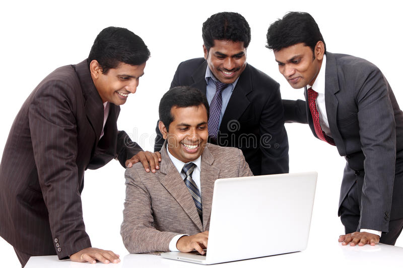 Download A Smart Indian Business Team Stock Photo - Image: 22967192