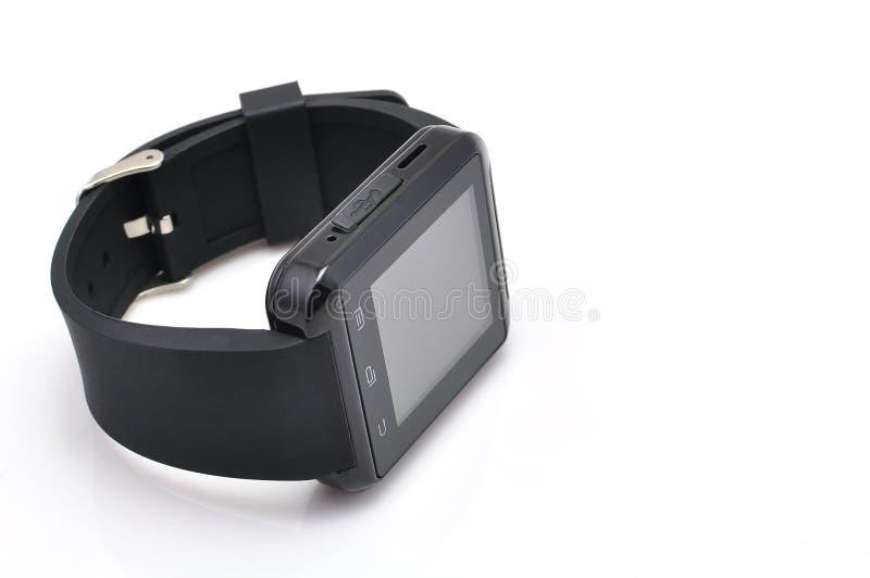Smart klocka för svart arkivbild