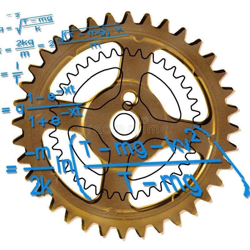 Download Smart kugghjul fotografering för bildbyråer. Bild av guld - 279325