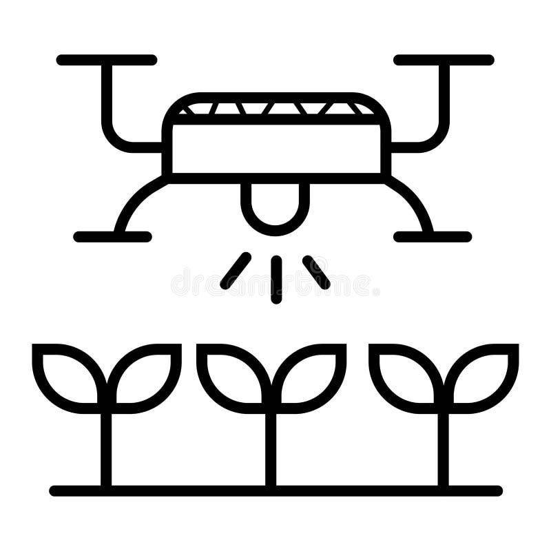 Smart lantg?rdsymbol royaltyfri illustrationer