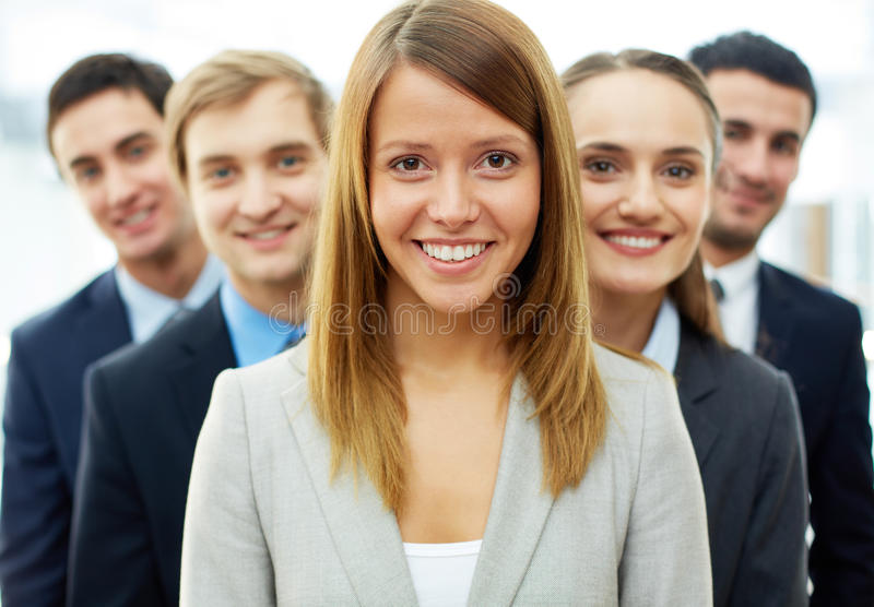 Download Smart leader stock image. Image of executive, happy, leader - 32734511
