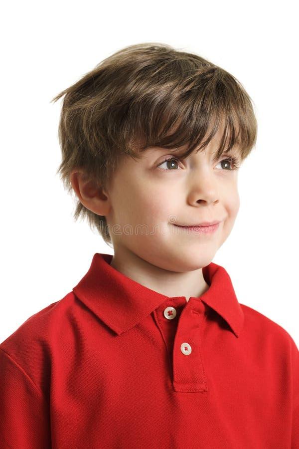 Smart Little Boy Stock Photography