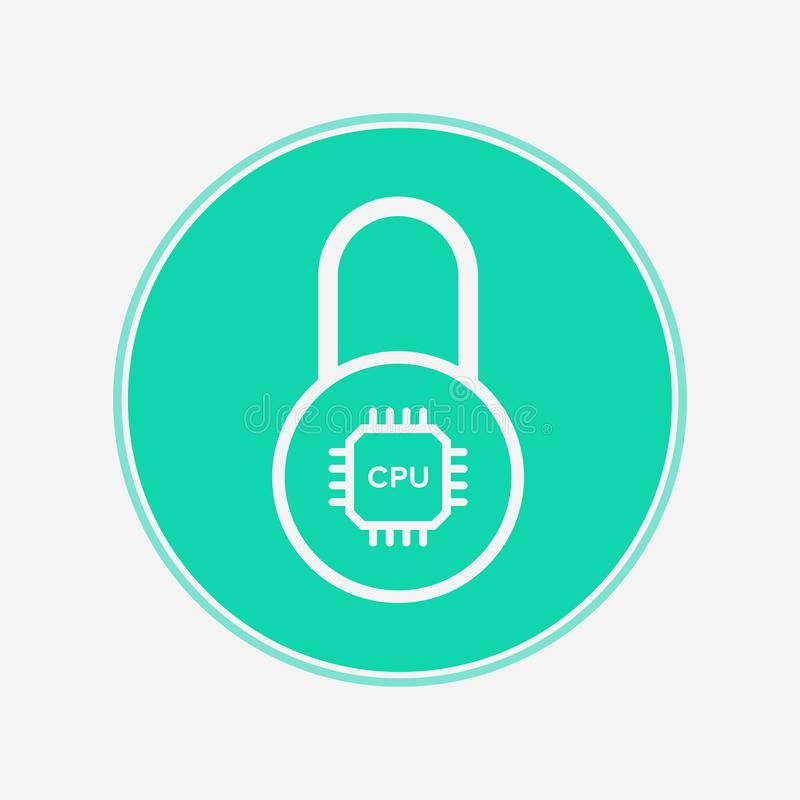 Smart lock vector icon sign symbol vector illustration