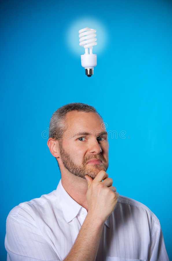 Smart man royalty free stock photos