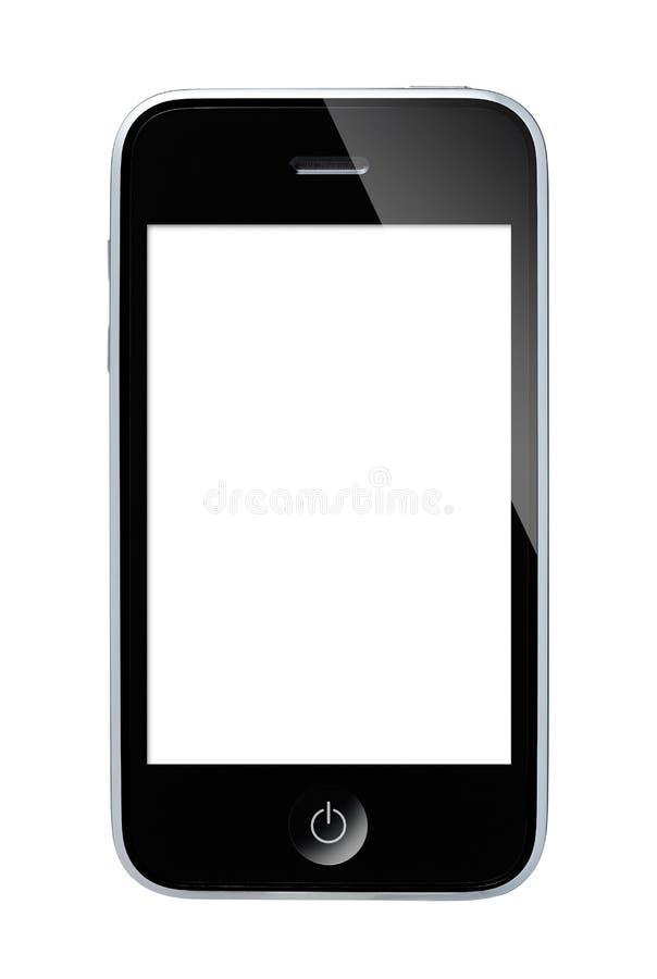 Smart Phone. Isolated on whitern