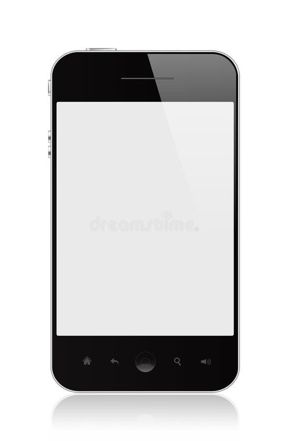 Download Smart Phone stock illustration. Image of organizer, industry - 26829136