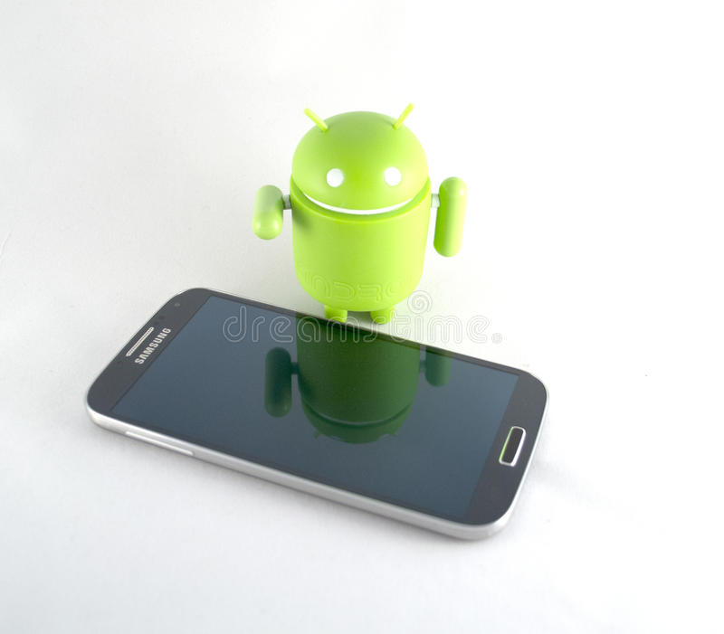 Download Smart phone and android editorial stock image. Image of connection - 36678279
