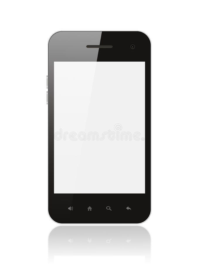 Smart Phone With Blank Screen Stock Images