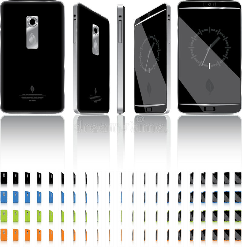 Download Smart Phone 3D Rotation - 21 Frames Stock Photography - Image: 32018742