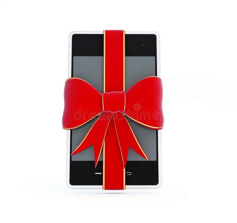 Download Smart Phone gift stock illustration. Image of present - 28159872