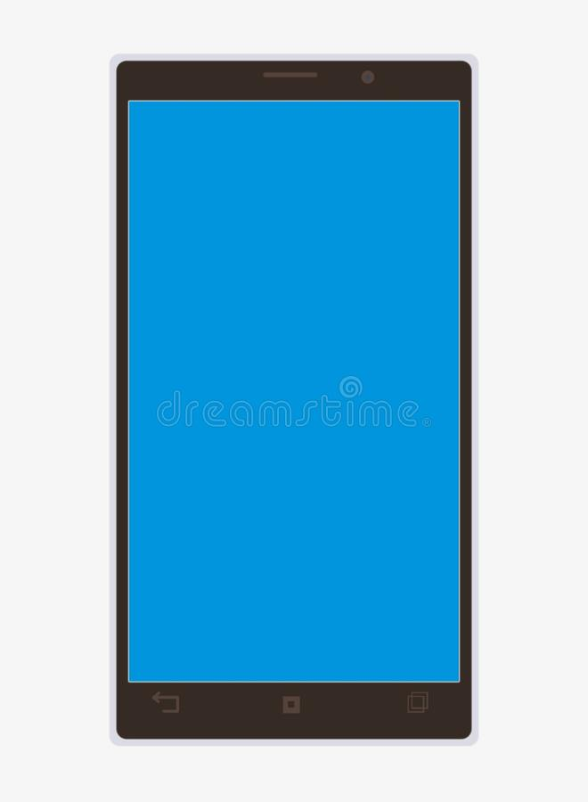 Download Smart phone stock illustration. Image of black, prototype - 42863405