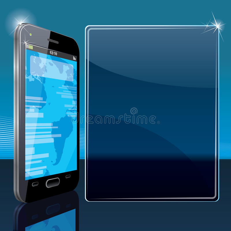 Download Smart Phone Poster Template Stock Images - Image: 26397774