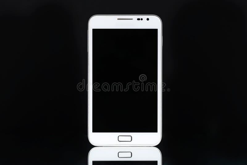 Download White smart phone tablet stock illustration. Image of banner - 30092155
