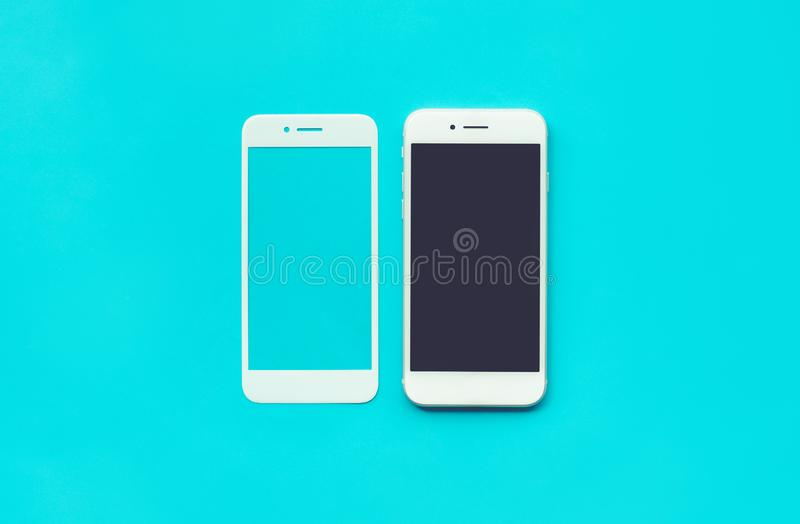 Smart phone with tempered glass shield,film screen cover. Protector concepts ideas stock images
