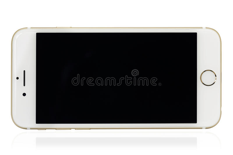 Smart phone. On the a white background