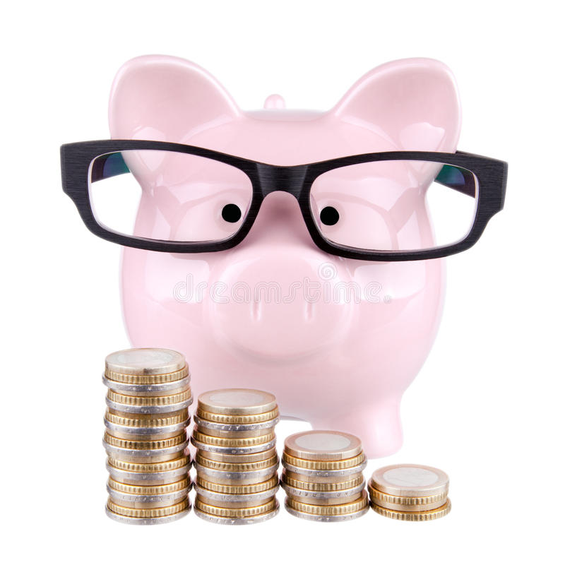 Free Smart Piggy Bank Stock Images - 50386654
