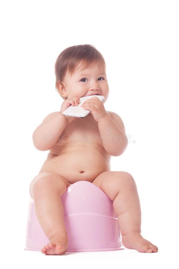 Download Smart Potty Training Stock Photo - Image: 77799599