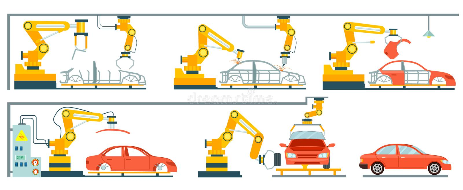 Car Manufacturing Process Video Free Download