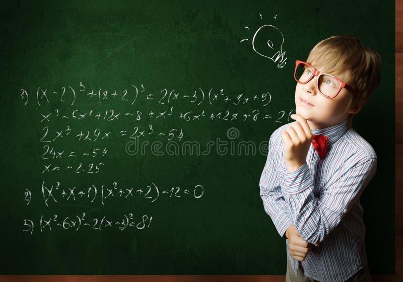 smart schoolboy arkivbild