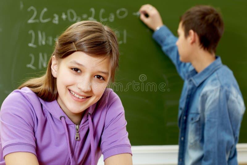 Smart Student Stock Image