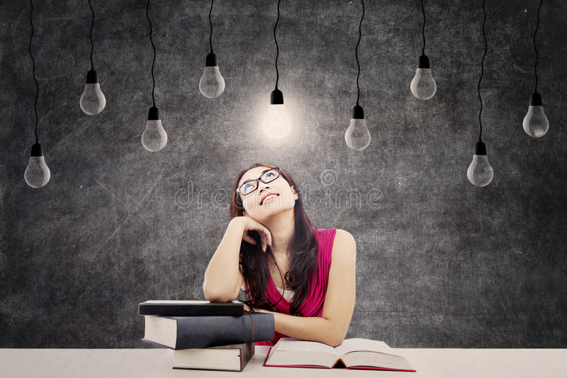 Download Smart student stock photo. Image of education, indian - 27187006
