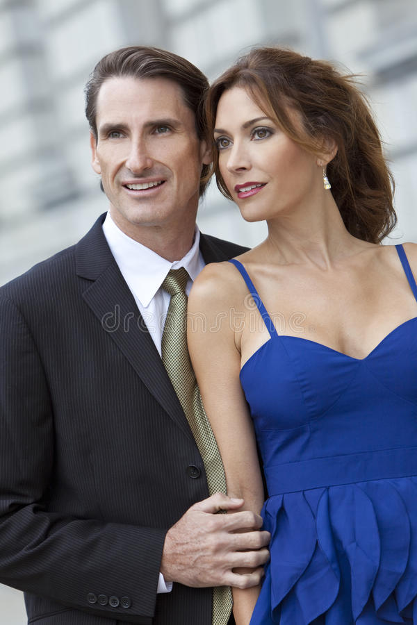Download Smart Successful Man And Woman Couple Royalty Free Stock Images - Image: 18119569