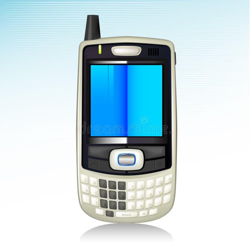 smart symbolstelefon royaltyfri illustrationer