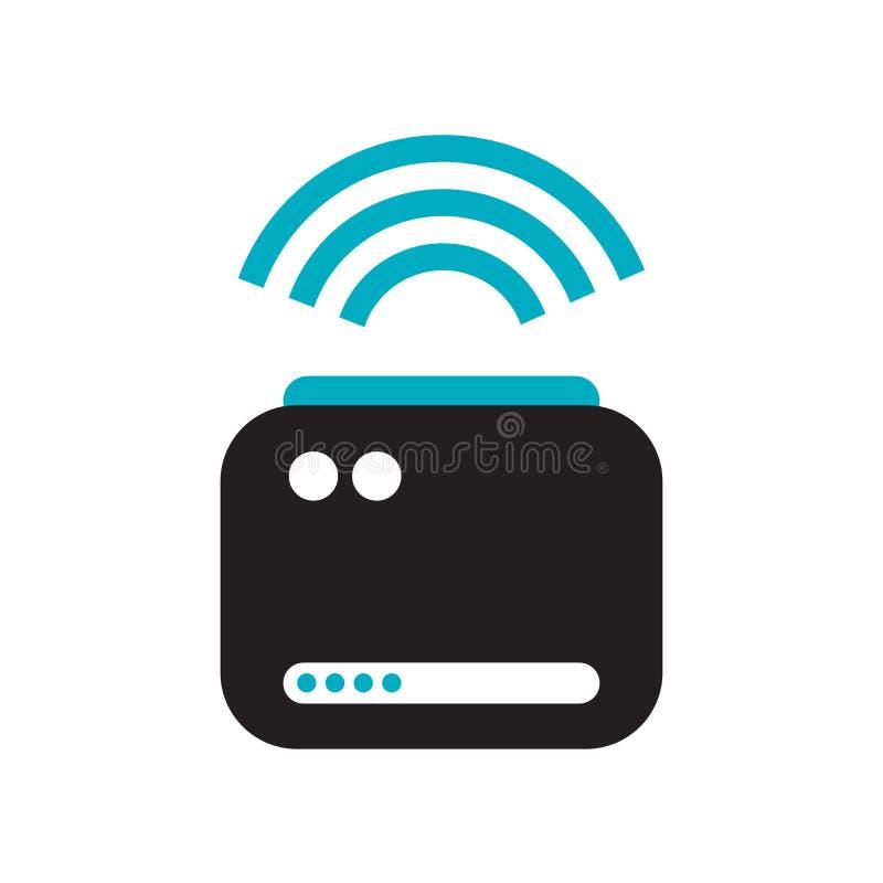 Smart tecken och symbol för proppsymbolsvektor som isoleras på vit bakgrund, smart propplogobegrepp vektor illustrationer