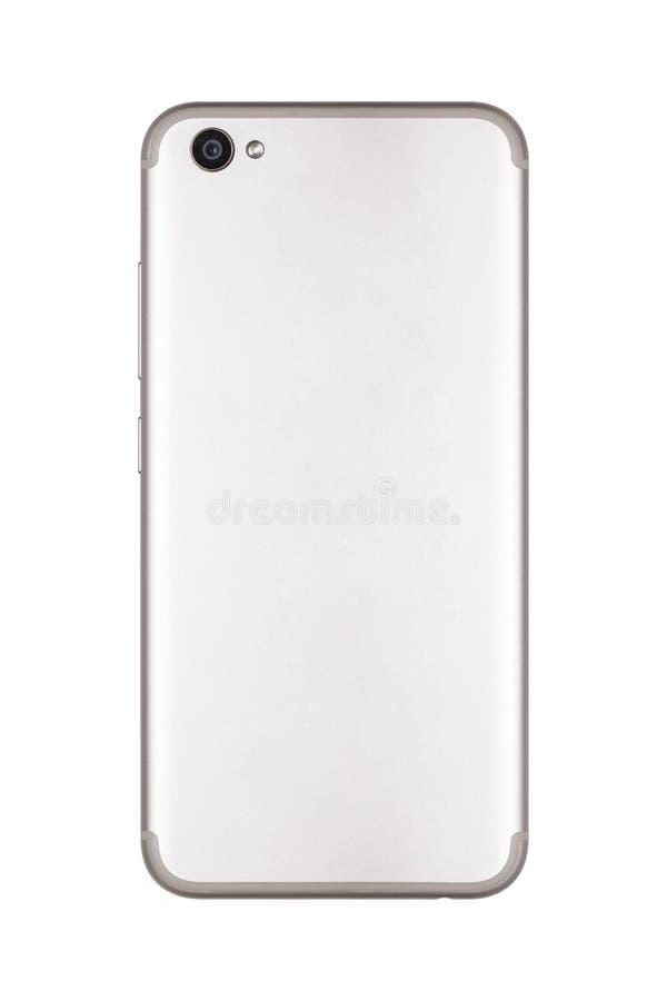 Smart telefon, baksidan av telefonen arkivbild