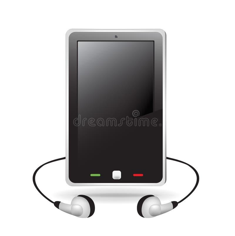 Download Smart Telephone With Headphones Stock Vector - Image: 22505340