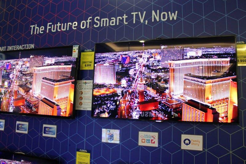 Smart TV imágenes de archivo libres de regalías
