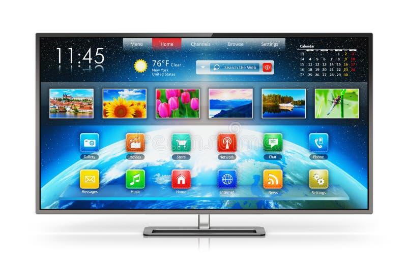 Smart TV stock illustration