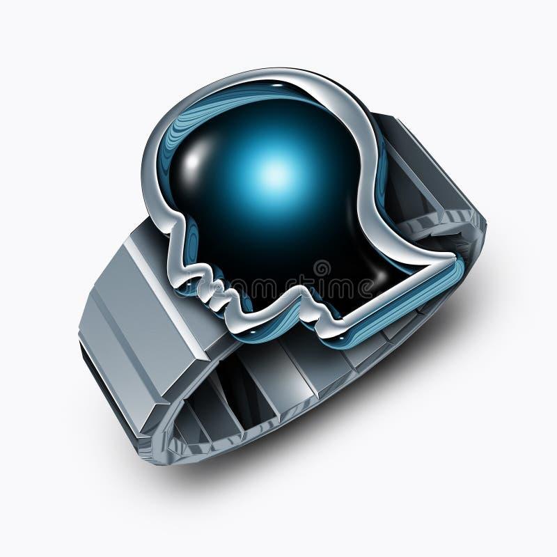 Smart Watch Concept stock illustration