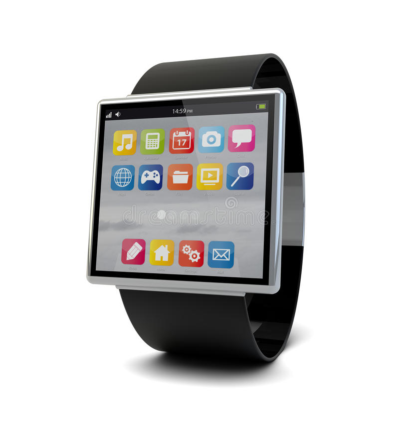 Download Smart Watch Royalty Free Stock Images - Image: 31894699