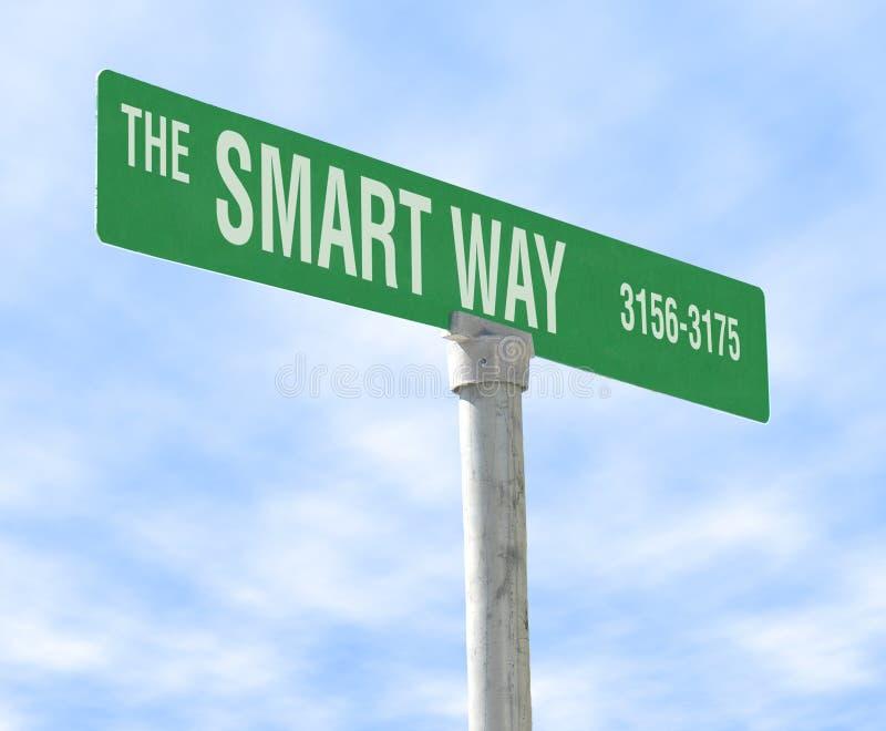 The Smart Way stock photos