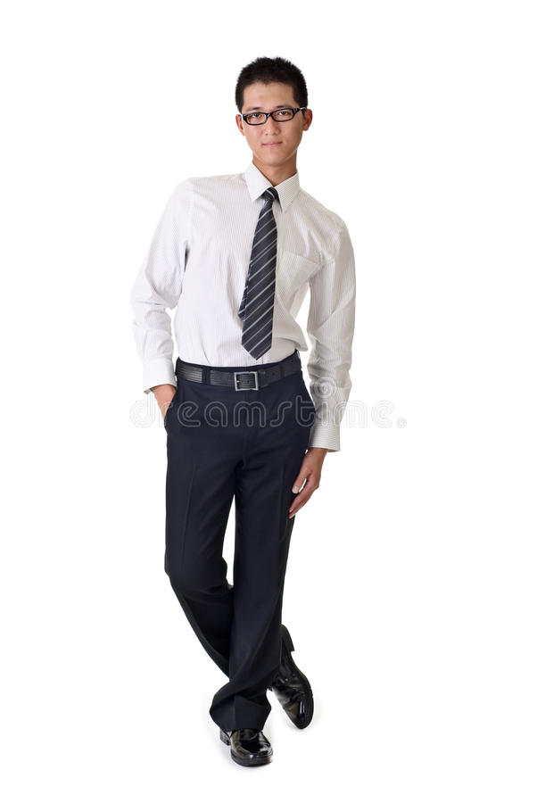 Download Smart young business man stock photo. Image of glass - 15223966