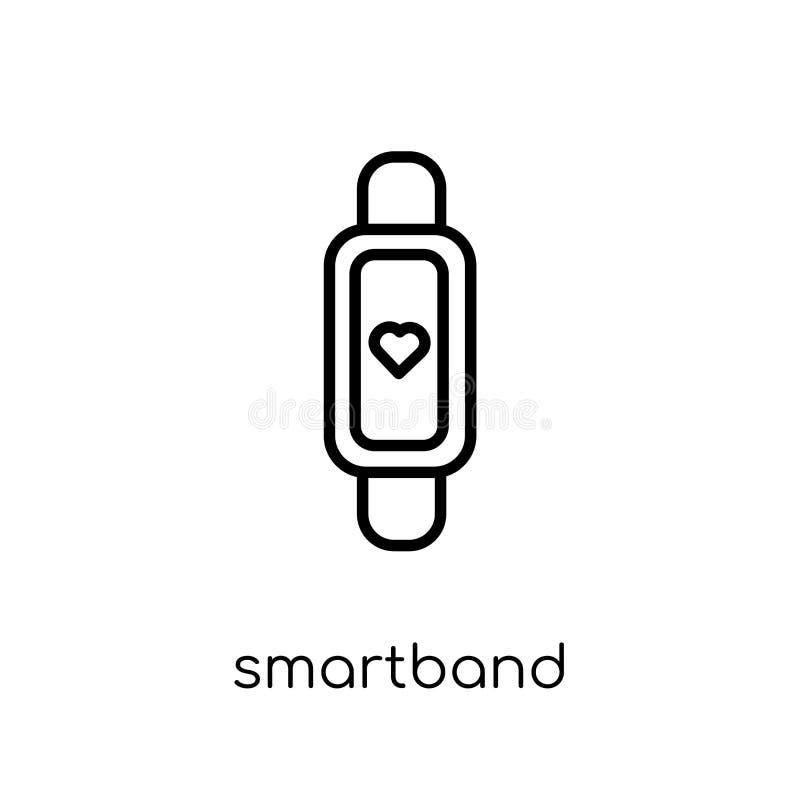 Smartband icon. Trendy modern flat linear vector Smartband icon vector illustration