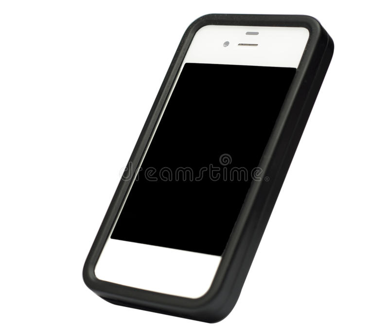Download Smarthphone Isolated On White Stock Illustration - Image: 27620471