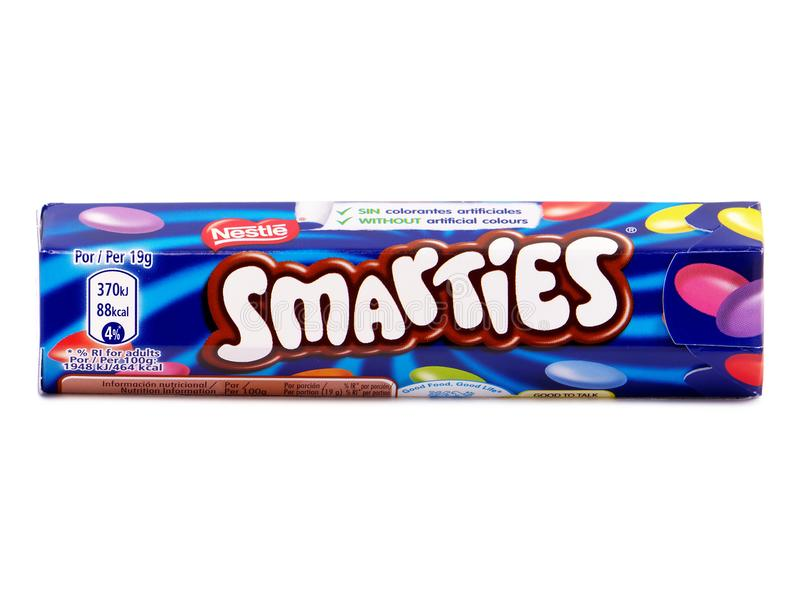 Chocolate With Smarties Stock Image Image Of Temptation
